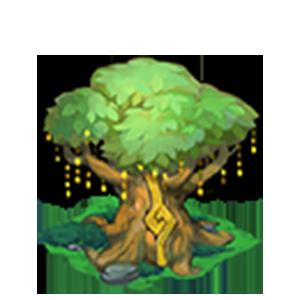 瞑想の木の画像
