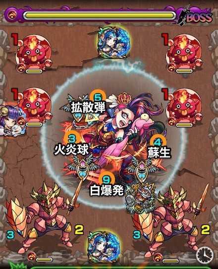ハートの女王のボス3攻略