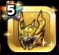 黄金竜の兜