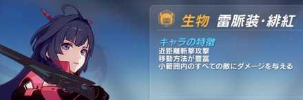 【崩壊3rd】近接攻撃キャラ①