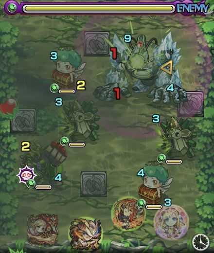ヨトゥンステージ1攻略