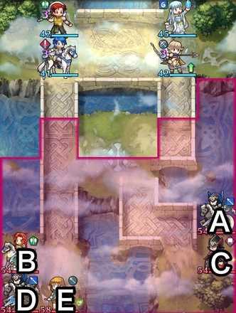 縛鎖の第6迷宮:第5ステージのマップ画像