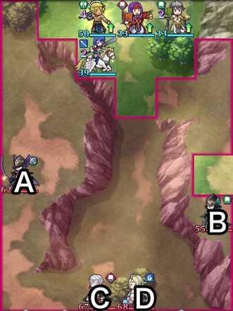 縛鎖の第6迷宮:第3ステージのマップ画像