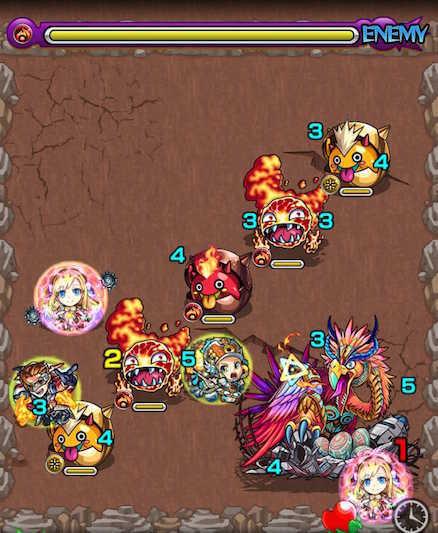 ロック鳥ステージ2攻略