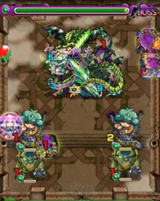 覇者の塔18階の第5ステージの画像