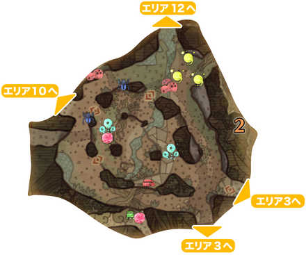 古代樹の森_マップ2