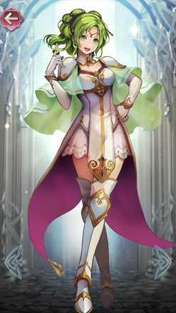 ラーチェル(光の聖王女)の立ち絵