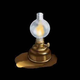 詩人のランプの画像