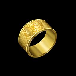 ゴールドリングの画像