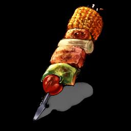 特製肉串の画像