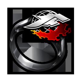 KOFエンブレムの指輪の画像