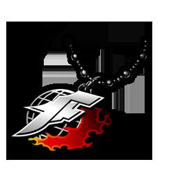 KOFエンブレムのネックレスの画像