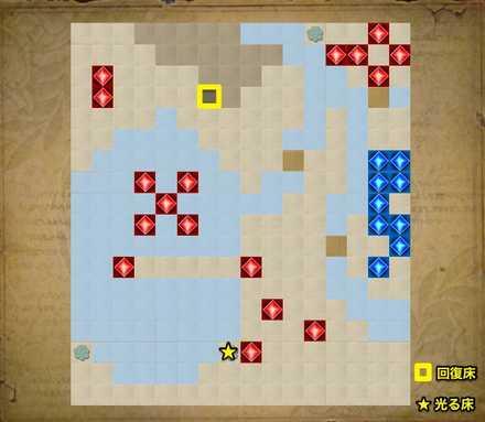地上編2-3のマップ