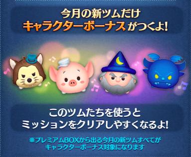 キャラクターボーナスの画像