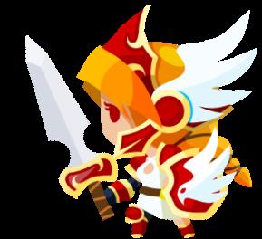 炎の翼のヴァルキリーの画像