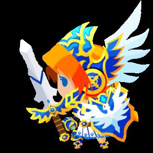 冷気の守護天使ヴァルキリーの画像