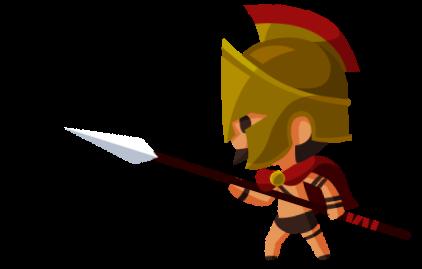 スパルタの戦士の画像