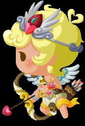 天使キューピッドの画像
