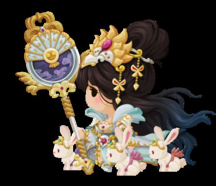 月宮女神嫦娥の画像