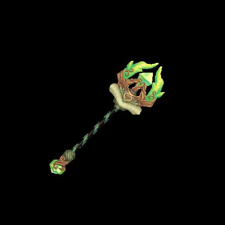 極緑魔の収束杖の画像
