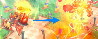 マグマジンの攻撃パターン5