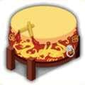 太鼓テーブルの画像