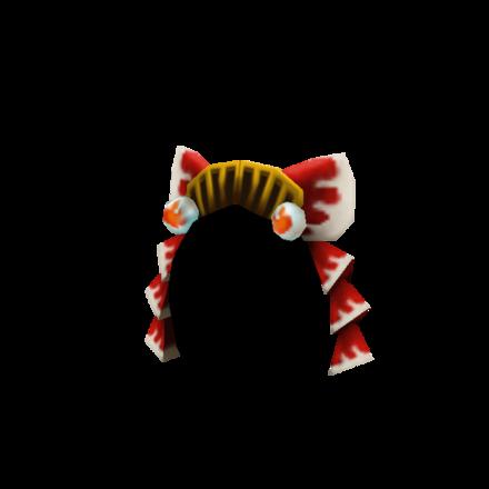 妖狐の髪飾りの画像