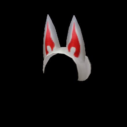妖狐の髪飾りのメンズ画像