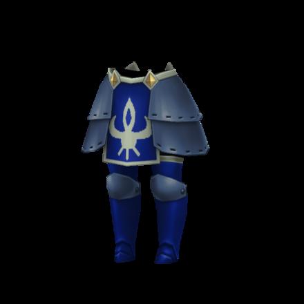 青騎士の膝当ての画像