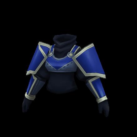 青騎士の鎧の画像