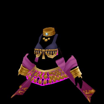 魔法剣士の服の画像