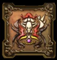 魔剣士ピサロの紋章・頭のアイコン