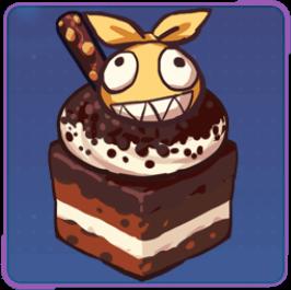 ホムのチョコケーキの画像