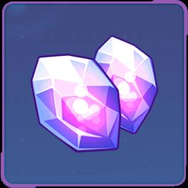 ダブルエーテルの結晶の画像