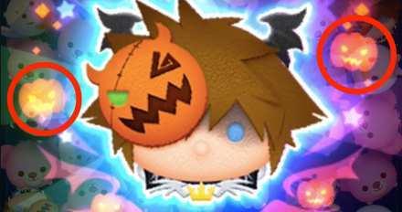 かぼちゃが出るツムの画像