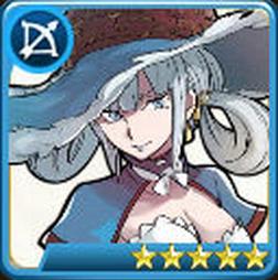 戦の海賊の青エメラルダ