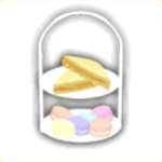 パーティーのお菓子の画像