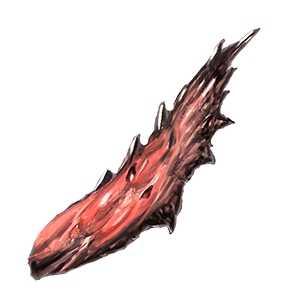 朱殻の刀片の画像