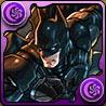 バットマン+バットモービルの画像