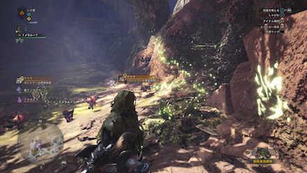 大蟻塚の荒地エリア3の痕跡