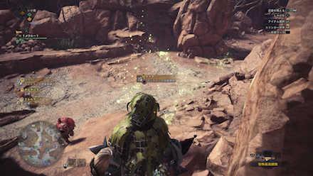 大蟻塚の荒地エリア7の痕跡