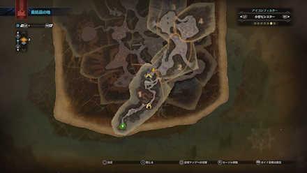 龍結晶の地の痕跡