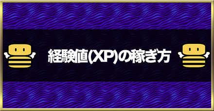 経験値(XP)の稼ぎ方