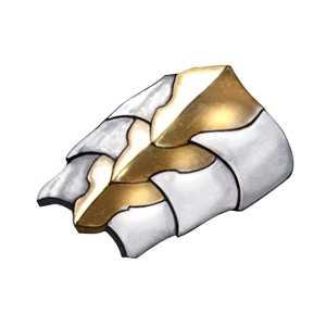 白銀の装甲の画像