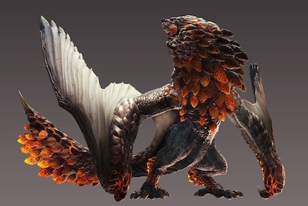 Monster Hunter World Bazelgeuse