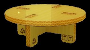 段ボール円卓の画像