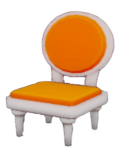 質素な椅子の画像