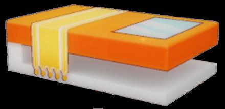 質素なローテーブルの画像