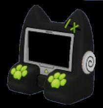 黒猫アーケードゲームの画像