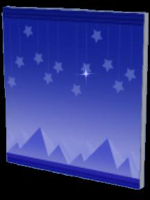 星空の朝の画像